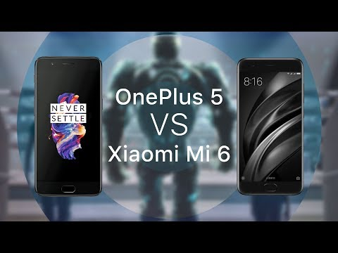 Сравнение Xiaomi Mi6 и OnePlus 5