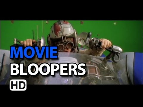 Star Wars: Episode I - The Phantom Menace (1999) Bloopers Outtakes Gag Reel