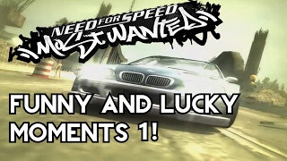 Funny And Lucky Moments - NFS Most Wanted - Ep. 1