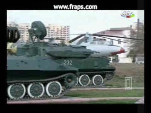 Azerbaijan Military Museum at outside in Baku