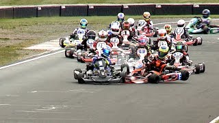 INCREDIBLE Kart race hits 130k views! Super 1 2018, Rd 9 PFI: Jnr TKM Final