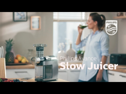 Philips Slow Juicer Demo : Philips Juicer HR1854 unboxing + test Doovi