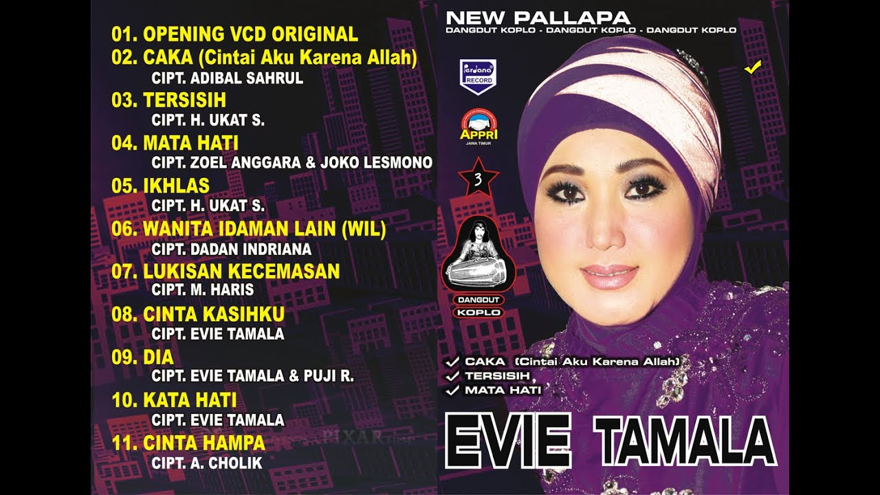 EVIE TAMALA - CAKA - NEW PALLAPA - YouTube