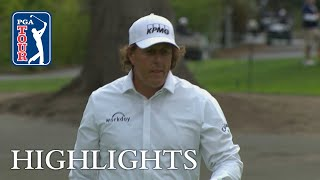 Phil Mickelson's highlights | Round 1 | Safeway 2018