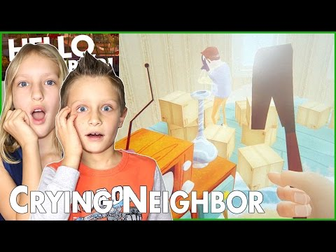 I Won The Game / Hello Neighbor Solution / The Neighbor is Crying