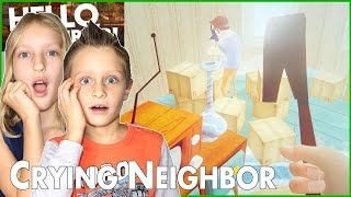 I Won The Game / Hello Neighbor Solution / The Neighbor is Crying thumbnail