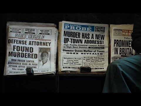 Newspaper scene