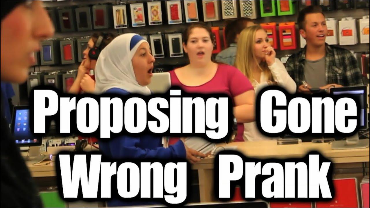 Schön Public Prank   Proposing Gone Wrong (Valentineu0027s Prank)   YouTube