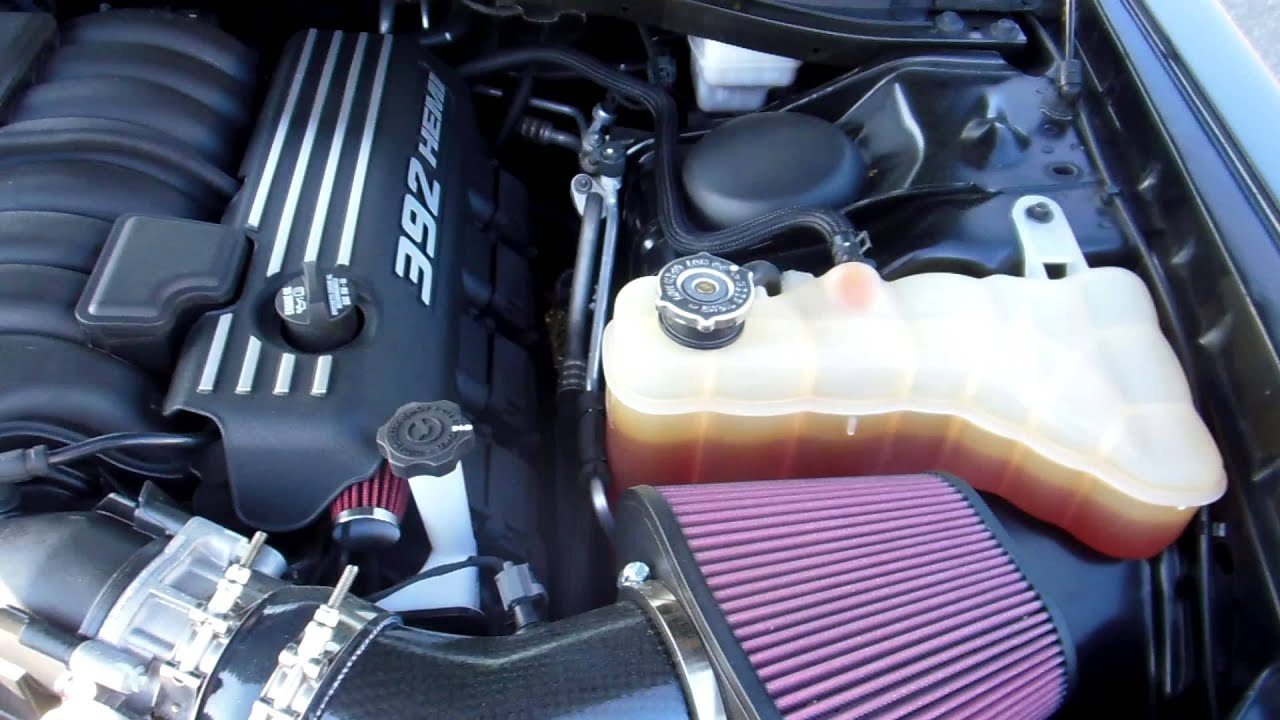 392 Srt Challenger Must See Aftermarket Cold Air Intake