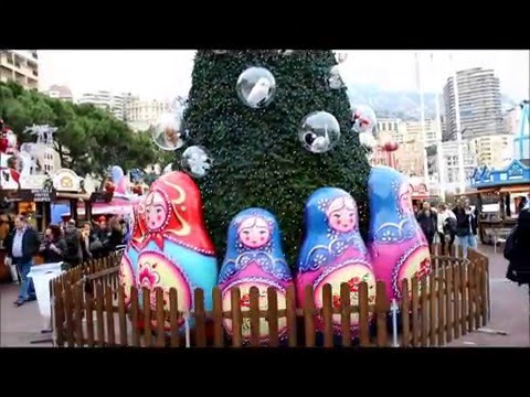 Christmas Market in Monaco French Riviera