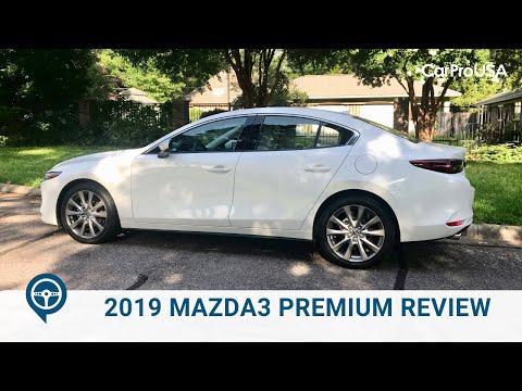 2019 Mazda3 Premium Sedan Review