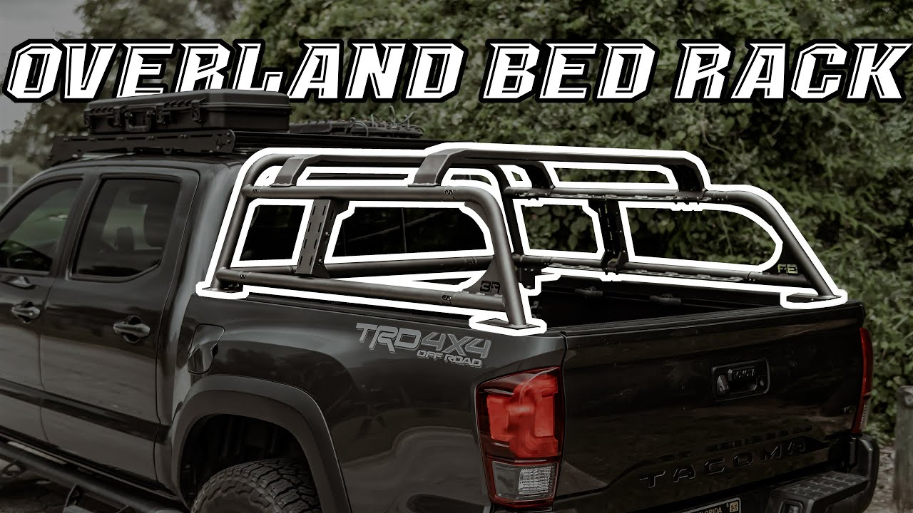 tacoma overland bed rack installing the bodyarmor4x4 overland bed rack 3rd gen tacoma