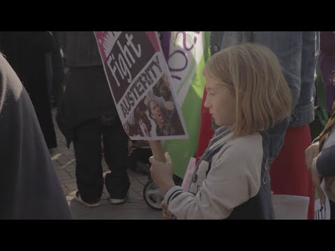 Anti-Austerity Demo | Birmingham | July 8th 2015 | Youth Fight For Jobs