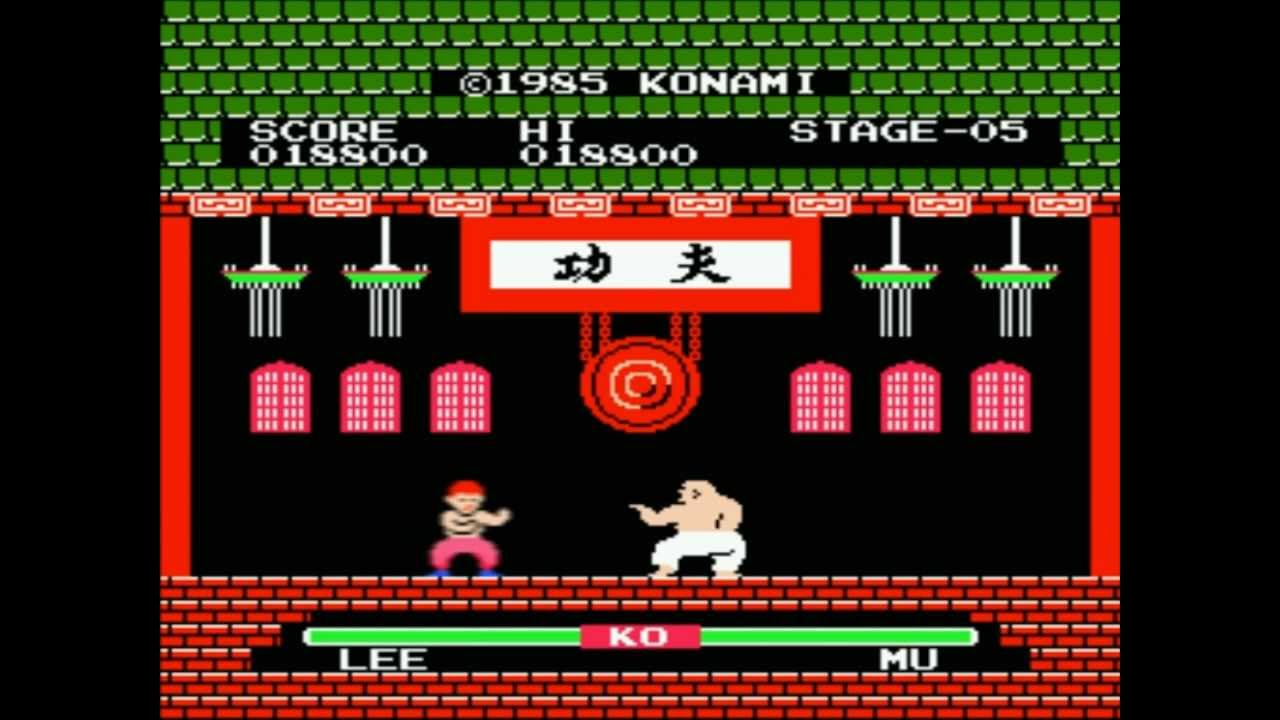 Family Game (Nes) - Yie Ar Kung-Fu - YouTube