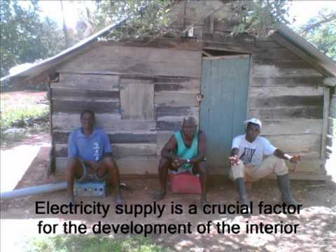 Suriname CC INDIGENOUS Alternative energy for the communities of Gonsutu
