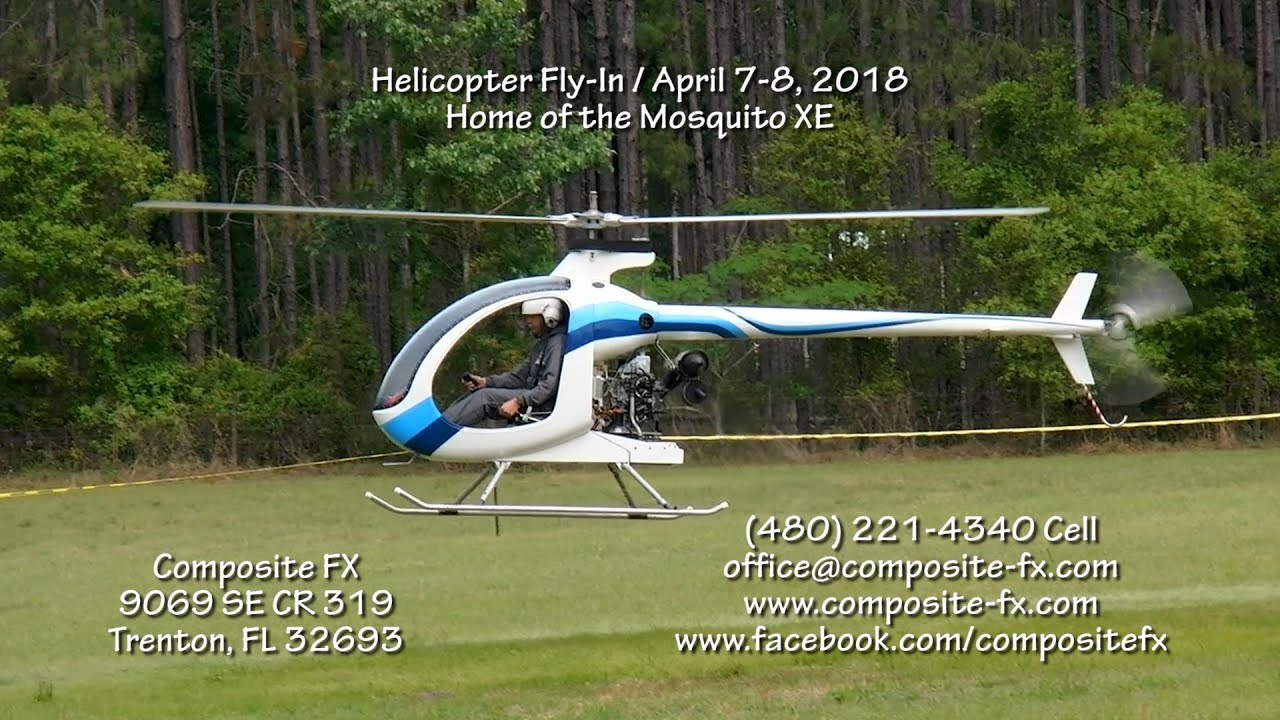 Helicopter Fly-In / April 7-9, 2018 / Composite FX / Trenton, FL32693