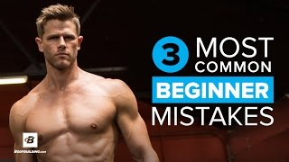 3 Most Common Beginner Mistakes | Andy Speer