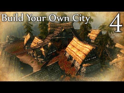Skyrim Mods: Build Your Own City - Part 4