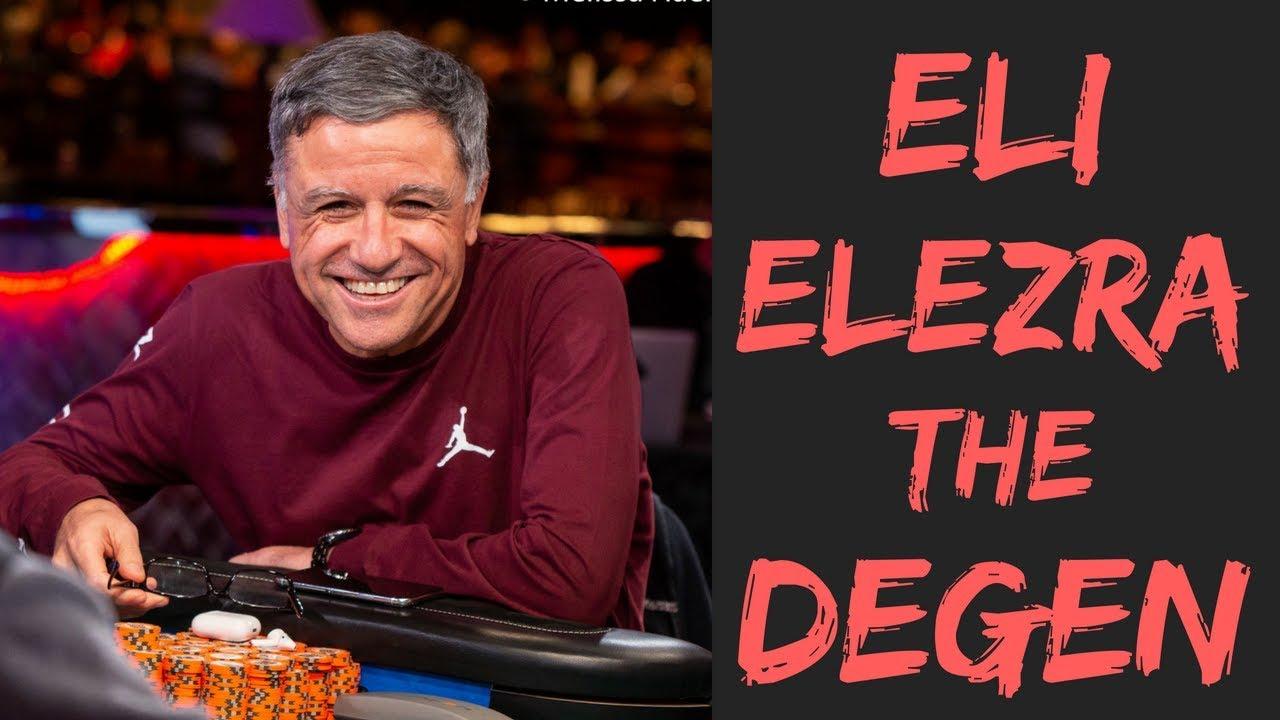 Eli Elezra Bets On Poker Players Champion Michael Quot The