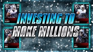 Make Millions Of Coins By Investing!!! Madden Mobile 17