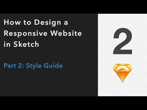 How to Design a Professional Website in Sketch | Part 2: Sty