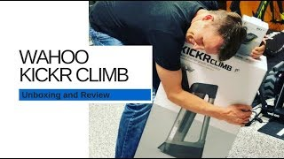 Wahoo Kickr Climb Unboxing and Review