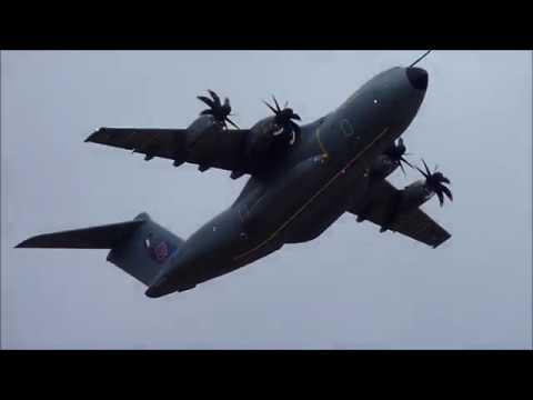 Air Legend 2019. Airbus A400m Atlas. Melun Villaroche Airshow