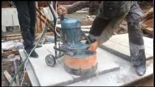 Мозаично-шлифовальная машина в Аренду.Шлифовка ступенек из мраморной крошки(, 2012-12-09T07:32:30.000Z)