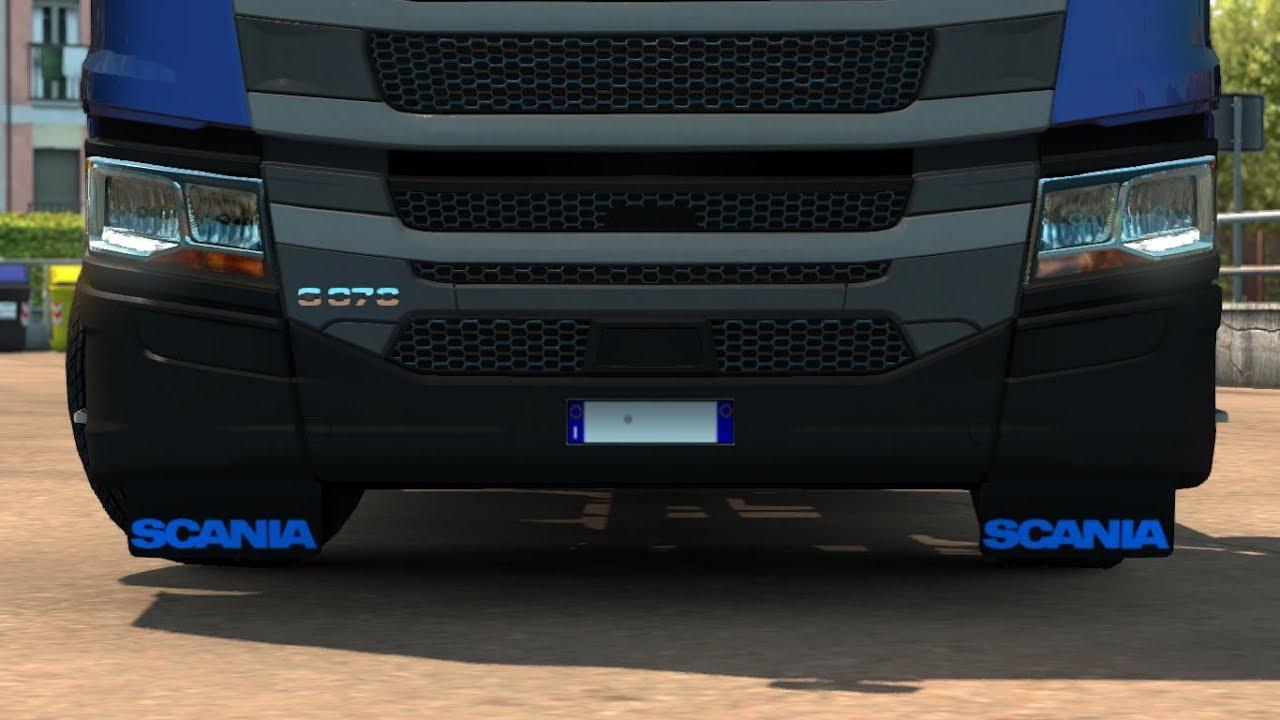 1 30 Euro Truck Simulator 2 Front Mudflaps Scania Next
