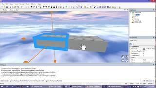 [Roblox] - MotorFeature/VelocityMotor/Hole Demonstration