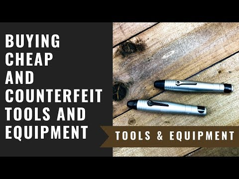Buying Cheap And Counterfeit Tools And Equipment - Jewelry Tools And Equipment