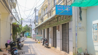 Bán dãy 6 căn nhà trọ hẻm liên khu vực 2-3 đường Nguyễn Văn Cừ nối dài, An Khánh, Ninh Kiều, Cần Thơ