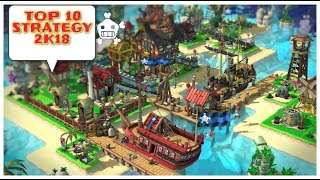 TOP-10 Strategy games review 2018 Android/IOS