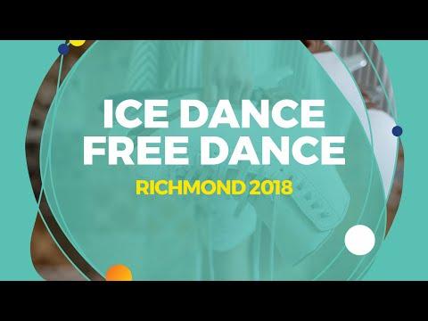 Konkina Ksenia / Vakhnov Alexander (RUS) | Ice Dance Free Dance | Richmond 2018