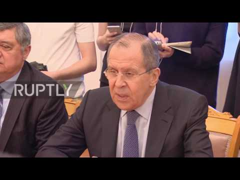Russia: Lavrov discusses bilateral ties with top Afghan diplomat