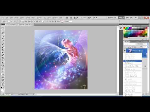 Hướng dẫn tạo hiệu ứng ô vuông trong suốt bằng Photoshop