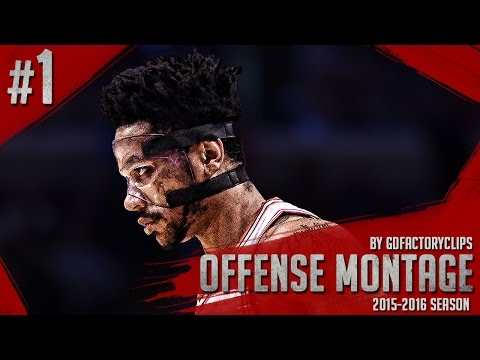 Derrick Rose Offense Highlights 2015/2016 (Part 1) - INSANE Crossovers, Vintage D-Rose!