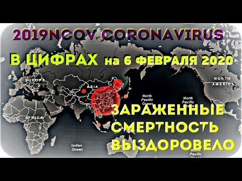 #КОРОНАВИРУС ✧ 2019-nCoV ✦ В ЦИФРАХ ✦ на 6 ФЕВРАЛЯ 2020