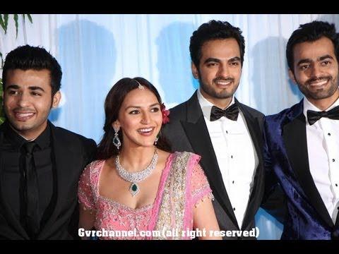 Esha and Bharat Takhtani Wedding Reception photos