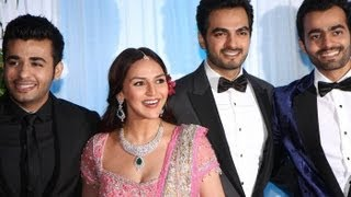 Esha and Bharat Takhtani Wedding Reception photos
