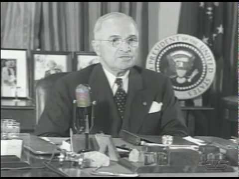 President Harry S. Truman fires General Douglas MacArthur