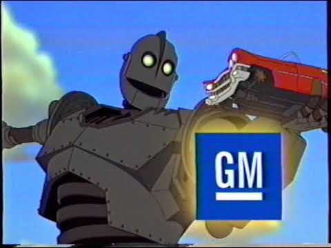 Download The Iron Giant (1999) RARE Promotional Screener VHS Preview!!!