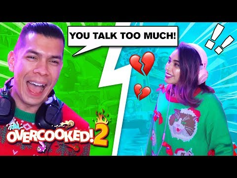 This Game Is NOT Good for our Relationship - Overcooked 2