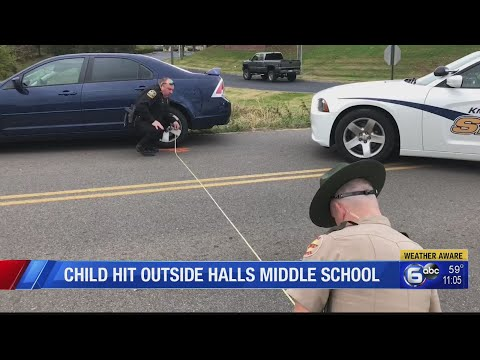 Child hit outside Halls Middle School