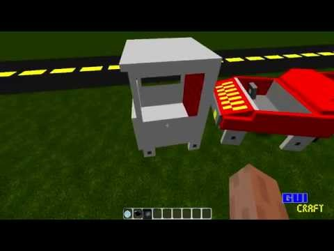 Minecraft - Vídeo Substituto - Mod dos Carros - (Cars and Drives)