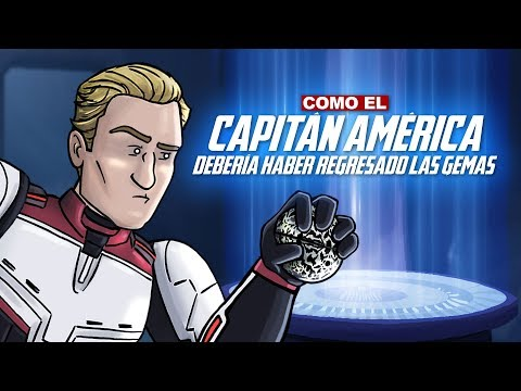 Como El Capitán América Debería Haber Regresado las Gemas