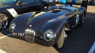 1953 Jaguar C Type, Race Car. at Cars and Coffee Scottsdale