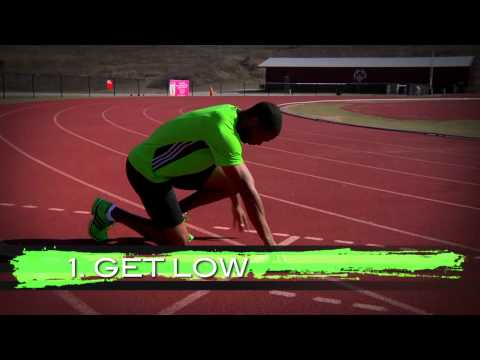 Tyson Gay On The Art Of The Start - Eastbay