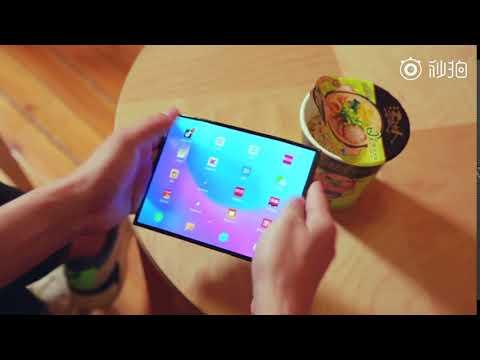 Xiaomi Mi Fold promo video