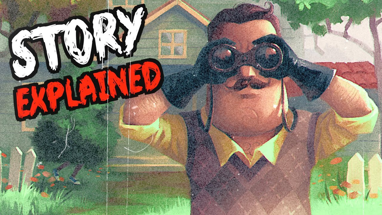 Download Hello Neighbor STORY EXPLAINED